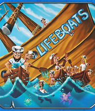 Lifeboats Board Game Puzzle Cards Games Table Game Funny Game Party Family