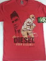 The Diesel T-Shirt John Riggins Mens SZ S/M Washington Redskins NFL Football Tee