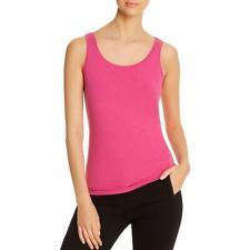 Nic + Zoe Womens Easy One Scoop Neck Sleeveless Tee Tank Top Shirt BHFO 8409