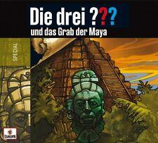 DIE DREI ??? FRAGEZEICHEN - Und Das Grab Der Maya 2CD NEU & OVP (Special 2020)