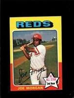 1975 TOPPS MINI #180 JOE MORGAN VGEX REDS AS HOF  *X00621