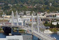 Original Photograph: Portland MAX 500s on Tilikum Crossing Bridge OB