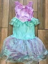 Disney Store Girls Ariel Mermaid Dressing Up Book Day Dress, 7-8 Years, Exc Cond