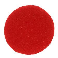 5 x Rosso Schiuma Clown Nose partito Costume Cosplay B1Y2