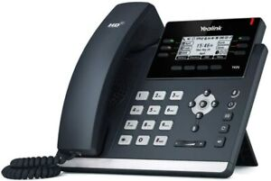 Yealink T42S IP Phone, 12 Lines. 2.7-Inch Graphical Display. Dual-Port Gigabit