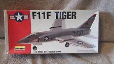 Lindberg F11F Tiger Model Kit - 1/48 - No. 70504 - USA 1991   (B 20)
