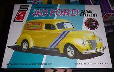 AMT 1/25 Gene Winfield's 1940 Ford Sedan DELIVERY 2n1 Model Car Mountain KIT fs