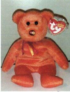 TY BEANIE BABY MASTERCARD EXCLUSIVE BEAR- MC 8