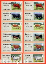 2012 Cattle Post and Go Europe 60g & Worldwide 60g Set of 12