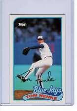 Tom Henke 1989 Baseball Talk #118 Blue Jays