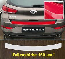Ladekantenschutz Lackschutzfolie transparent Hyundai i30 ab 2020  150 µm