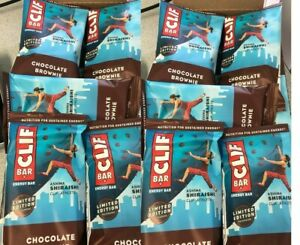 Clif Bar, Energy Bar, Chocolate Brownie, 60 LOOSE,2.40 Oz (68 G) Each EXP10/2021
