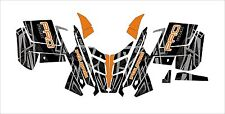 POLARIS 2015 GRAPHIC PRO R  RMK wrap decals ASSAULT indy 121 144 155 163  KIT 3