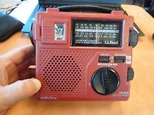 Eton FR-200 EMERGENCY RADIO AM FM SW LED Light + CASE