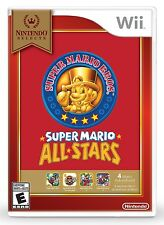Super Mario All-Stars - Nintendo Selects [Nintendo Wii, NTSC, Platformer] NEW