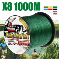Braided fishing line 8 strands, 60 pounds   Moss Green  328 yards