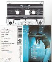 ZAZIE cassette K7 tape MADE IN LOVE