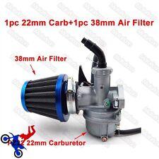 22mm carburateur PZ22 carb filtre à air 110cc 125cc atv quad go kart pit dirt bike