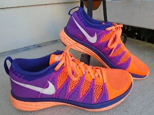 Nike Flyknit Lunar 2 Running Shoes Women Size 8 Athletic Shoes 620658-815
