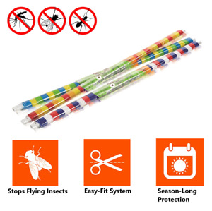 PVC Door Strip Curtain Stop Flying Insect Mosquito Bug Blinds Screen Flies