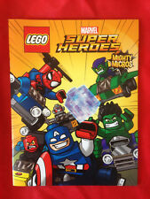 LEGO MARVEL SUPER HEROES SDCC 2016 PROMO Book MIGHTY MICROS with POSTER