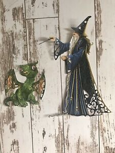 Tattered lace Wondrous Wizard And Baby Dragon Die cuts