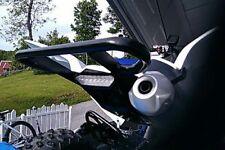 Rear Aluminum Wide Grab Bar Black for ATV Quad Yamaha Raptor 700