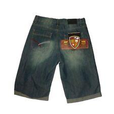 Pantalones cortos ,shorts vaquero hombre de Recandplay , azul ,talla 16 - S