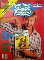 Electric Company Magazine February 1982 John Schneider Spider-Man