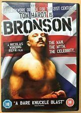 Bronson DVD 2009 British Prisoner Charles Prison Cult Film Movie with Tom Hardy