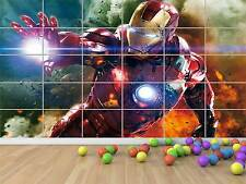 IRON MAN AVENGERS SUPER HEROS GEANT POSTER CHAMBRE ENFANTS ROOM KIDS