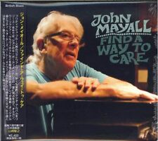 JOHN MAYALL-FIND A WAY TO CARE-JAPAN CD F30