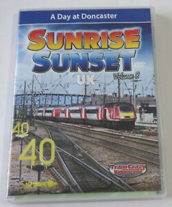 Railway DVD: Sunrise Sunset UK Volume 8 - A Day at Doncaster