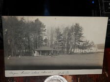 SPOFFORD NH - RPPC - 1906 REAL PHOTO POSTCARD - LAKE - CHESTERFIELD NH