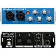 PRESONUS AUDIOBOX USB 96 interfaccia scheda audio sistema registrazione 2x2 usb
