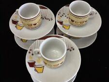 ☕️☕️ Cuban Espresso coffee cup set. 12 pc cup and saucer set. Cafe Cafesito 🍰🍰