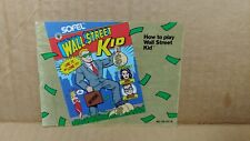 Wall Street Kid Nintendo NES Manual Only Original Instruction Booklet Only