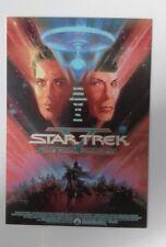 "STAR TREK - The Final Frontier Movie Postcard 6""X4"" Paramount Lot 2 Postcards"