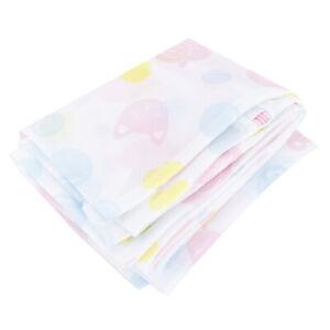 5Pcs/Set Flower Printed Washing Mesh Bag Laundry Clothes Socks Bra Lingerie U FS
