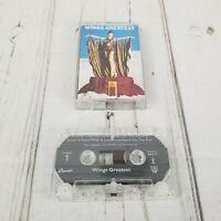 Wings Greatest 1978 Cassette Tape
