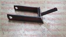 """Replacement Rotary Cutter Tail-wheel Fork 1-1/4"""" Post 4-3/4 to hole 5-1/2"""" width"""