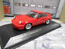 PORSCHE 911 Carrera RS 3.0 G Modell red rot ready to race UMBAU based PMA 1:43