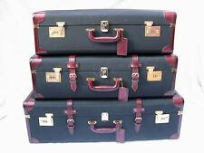 Selten schöner 3 - teiliger vintage MÄDLER Koffersatz Kofferset suitcase set