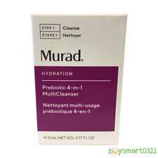 New Murad Hydration Prebiotic 4-in-1 MultiCleanser 5ml/.17oz Travel Free Ship