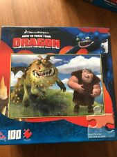 DREAMWORKS HOW TO TRAIN YOUR DRAGON PUZZLE 100 Piece PUZZLE 16 X 11 COMPLETE NIP
