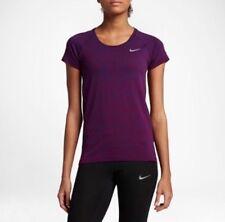 Women's Nike Sportswear Dry Lavorato a Maglia Training T Shirt Top, 831498-429, S
