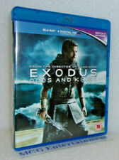 Exodus Gods And Kings (2-Disc Blu-ray, 2015) Christian Bale