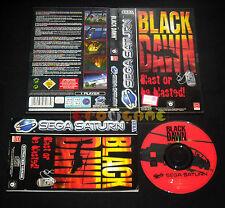 BLACK DAWN Sega Saturn Versione Italiana  ••••• COMPLETO