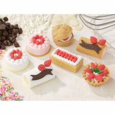IWAKO Puzzle Eraser / Cake No.2 / 60pc Pack (Japan Import)