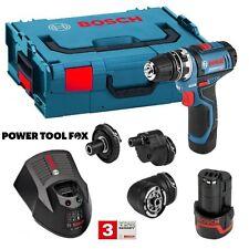 new - Bosch GSR 12V-15 FC Combination KIT / SET 06019F6070 3165140847728